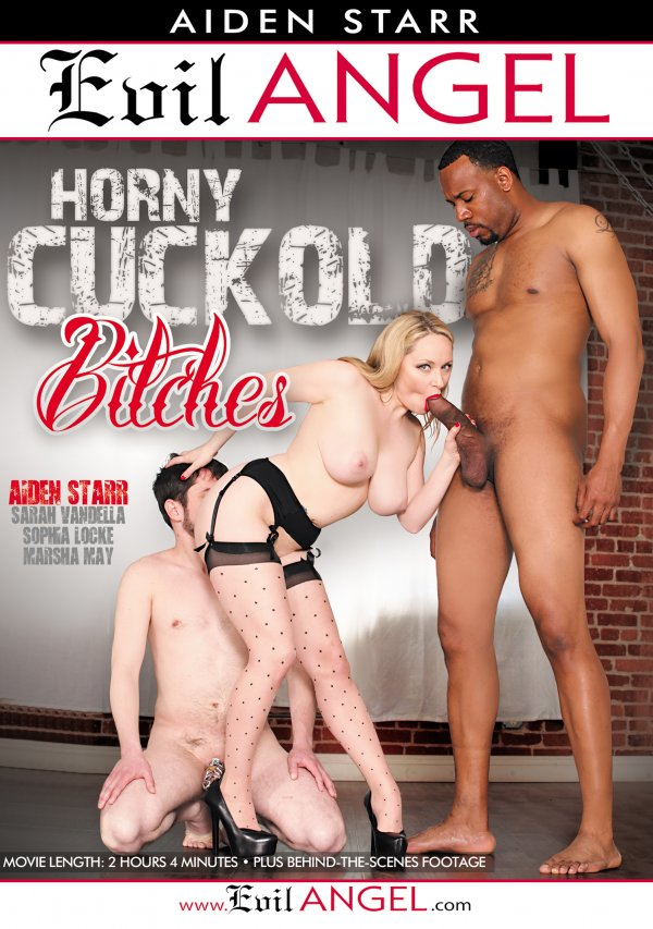 Evil Angel Aiden Starr's Horny Cuckold Bitches 2016  Jimmy Broadway Marsha May, Pierced Bellybutton, Blonde