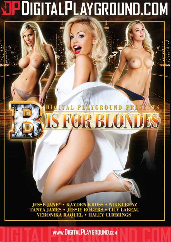Digital Playground B is for Blondes 2016  Veronika Raquel Jessie Rogers, Blonde, Hair Color