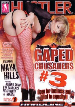 Hustler Hustler's Gaped Crusaders #3 Aurora Jolie Aurora Snow, Blowjob, Gloves