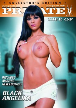 The Private Life Of Black Angelika 2009  Black Angelika Choky Ice, European, Vagina External