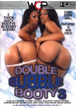 West Coast Productions Double Bubble Booty #3 Diamond Malone L.T., Black, Big Tits