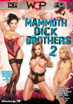 West Coast Productions Mammoth Dick Brothers #2 Chloe Star Kristina Rose, Pierced Bellybutton, Facial