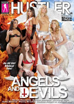 Hustler's Angels And Devils Cosima Knight Raven Rocket, Lesbian, Porn Trailers
