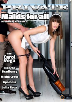 Private Maids for All 2015  Blanche Bradburry Julia Roca, Outdoors, Mouth
