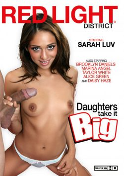 Red Light District Daughters Take it Big Brooklyn Daniels Marina Angel, Natural Breasts, Facial