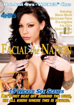 Wicked Facial the Nation MacKenzee Pierce Johnny Castle, Adult Movies, Blowjob & Facial