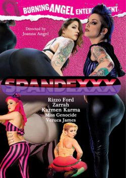 Spandexxx Karmen Karma Veruca James, Blindfold, Black Hair