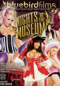Bluebird Films Nights at the Museum Demetri XXX Tony James, Stockings, Girls in Uniform