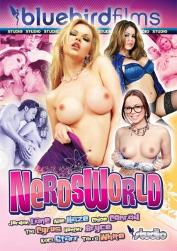 Bluebird Films Nerdsworld Tia Cyrus Jordan Lane, Hairy Pussy, Small Tits