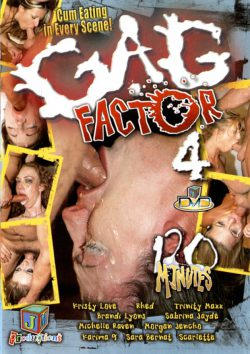 JM Productions Gag Factor #4 Michelle Raven Morgan Jencho, Blowjob & Facial, Mouth