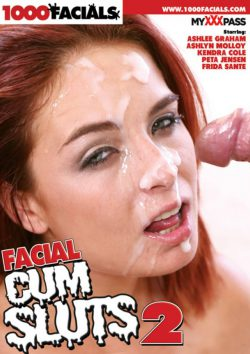 1000 Facials Facial Cum Sluts #2 Ashley Graham Peta Jensen, Black Hair, Facial