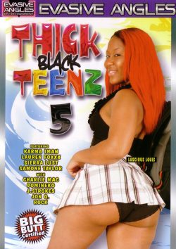 Evasive Angles Thick Black Teenz #5, Missionary, Natural Breasts