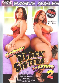 Horny Black Sisters Together #2 Keita Eden Mz. Booty, Black, Small Tits