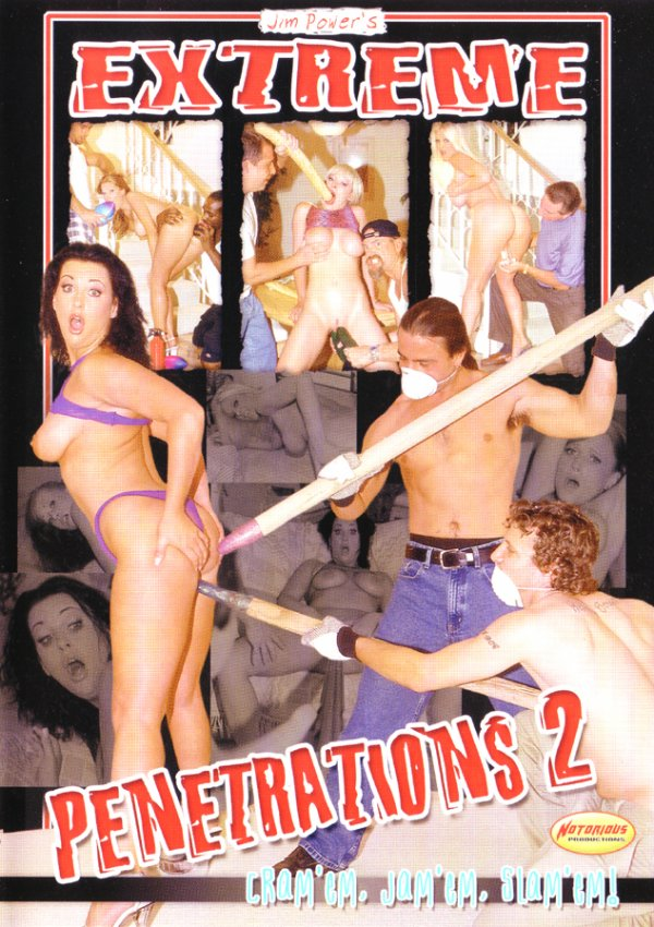 Notorious Jim Powers' Extreme Penetrations #2 Brooke Hunter Michelle Raven, Double Penetration, Anal SexSee More +Adult Movies