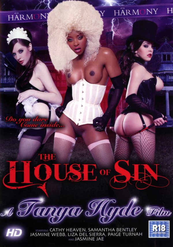 Harmony Films The House of Sin Cathy Heaven Paige Turnah, Stockings, Ethnic Porn