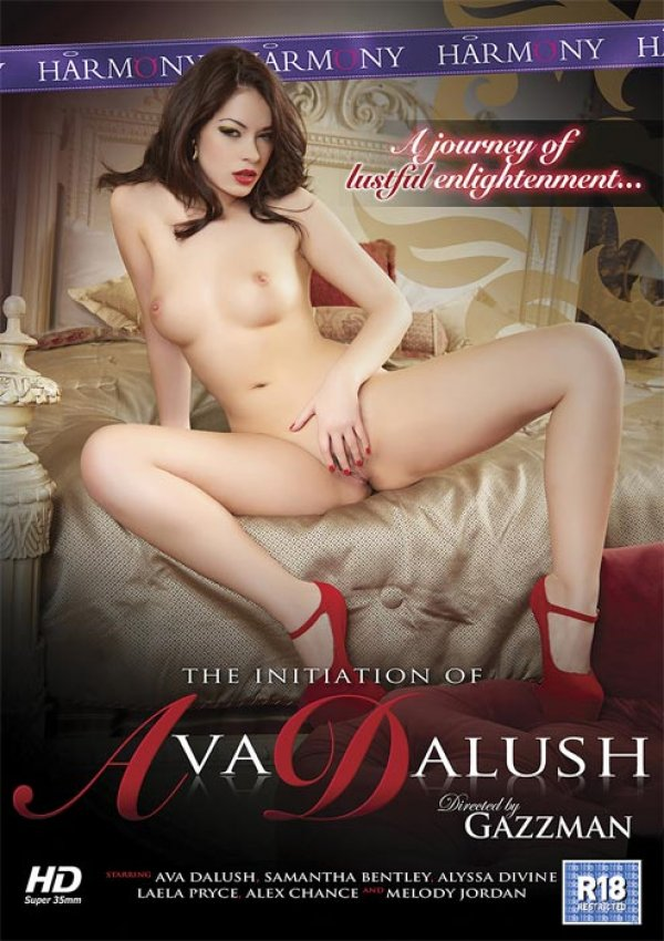 Harmony Films The Initiation Of Ava Dalush Alex Chance Alyssa Divine, Lingerie, Dildo