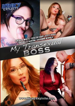 CX WOW INC. My Transexual Boss Kitty Doll Michelle Austin, Stockings, Blonde