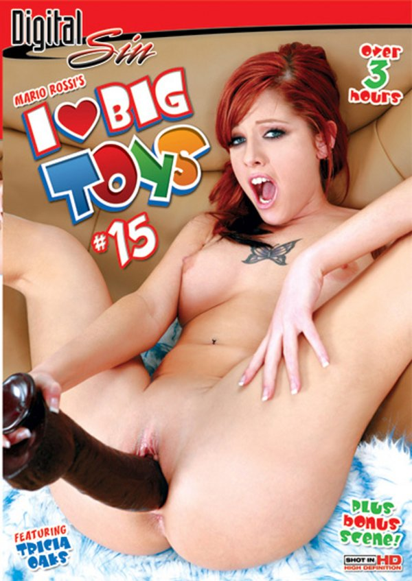 Digital Sin I Love Big Toys #15 2008  Kayme Kai Trina Michaels, Blonde, Dildo Play