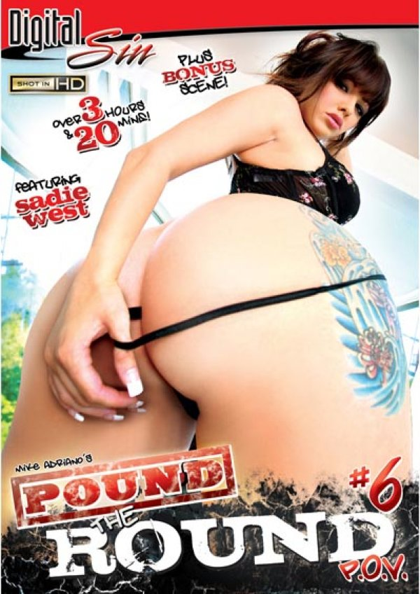 Digital Sin Pound The Round #6 Mike Adriano Angelina Ash, Mouth, Brunette