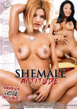 Shemale Attitude, Messy, Transsexual Porn