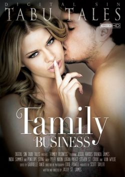 Family Business 2014  Tyler Nixon Jessa Rhodes, Brunette, Tattoos