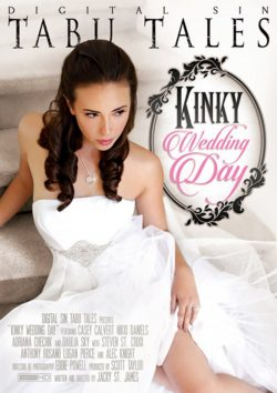Digital Sin Kinky Wedding Day 2014  Casey Calvert Dahlia Sky, Brunette, Petite