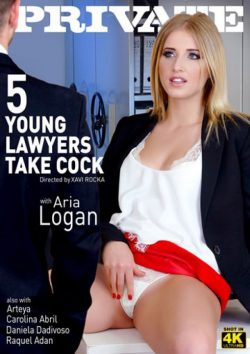 Private 5 Young Lawyers Take Cock 2016  Carolina Abril Daniela Dadivoso, European, Natural Breasts