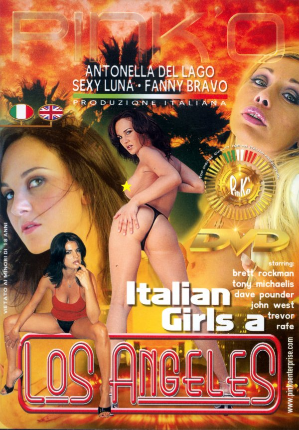 Pink O Italian Girls a Los Angeles Rafe Tony Michaelis, Deep Throat, Breasts