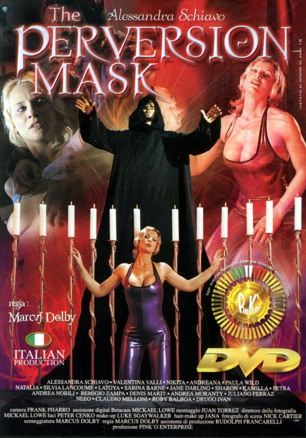 Pink O The Perversion Mask Silvia Lancoume Juliano Ferraz, Kissing, Doggie Style