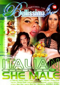 Pink O Italian She Male #10, Stockings, Transsexual