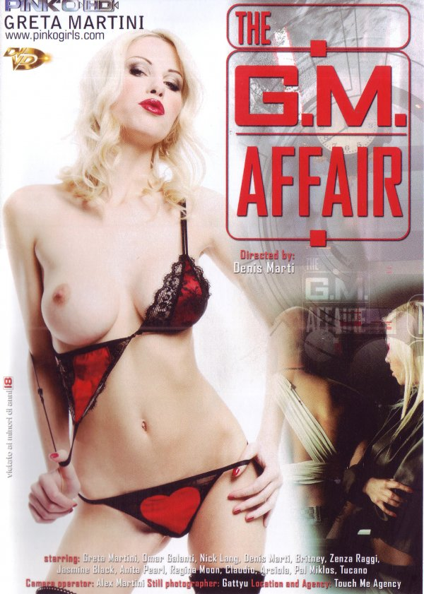 The G.M. Affair Anita Pearl Zenza Raggi, Natural Breasts, Big Tits