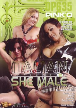 Italian She Male #32, Transsexual, Spooning