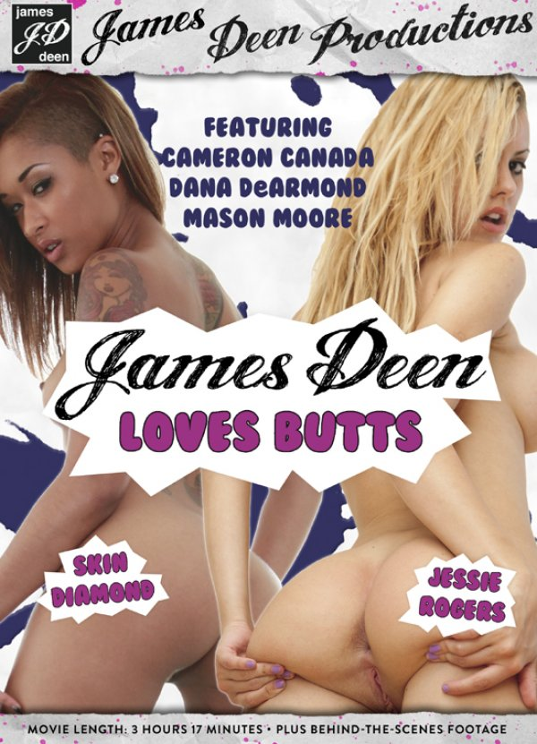 James Deen Productions James Deen Loves Butts Cameron Canada Dana DeArmond, Adult Movies, Anal