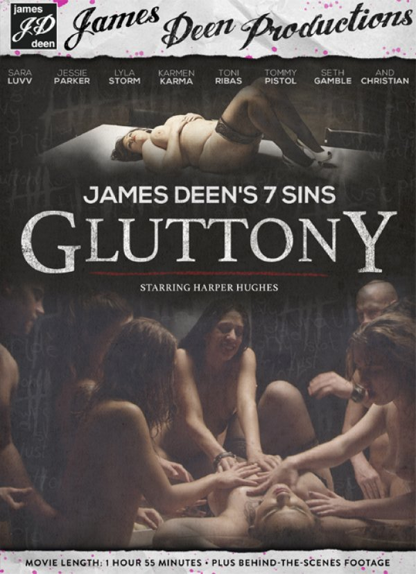 James Deen Productions Gluttony Karmen Karma Sara Luvv, Bizarre, Adult Movies