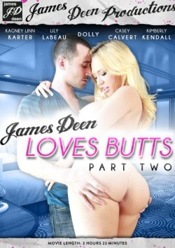 James Deen Productions James Deen Loves Butts #2 Kagney Linn Karter Lily Labeau, Facial, Black Hair