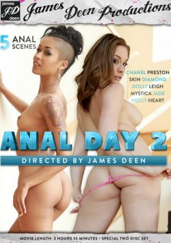 James Deen Productions James Deen's Anal Day #2 Dolly Leigh Chanel Preston, Anal Sex, Movies With Trailers