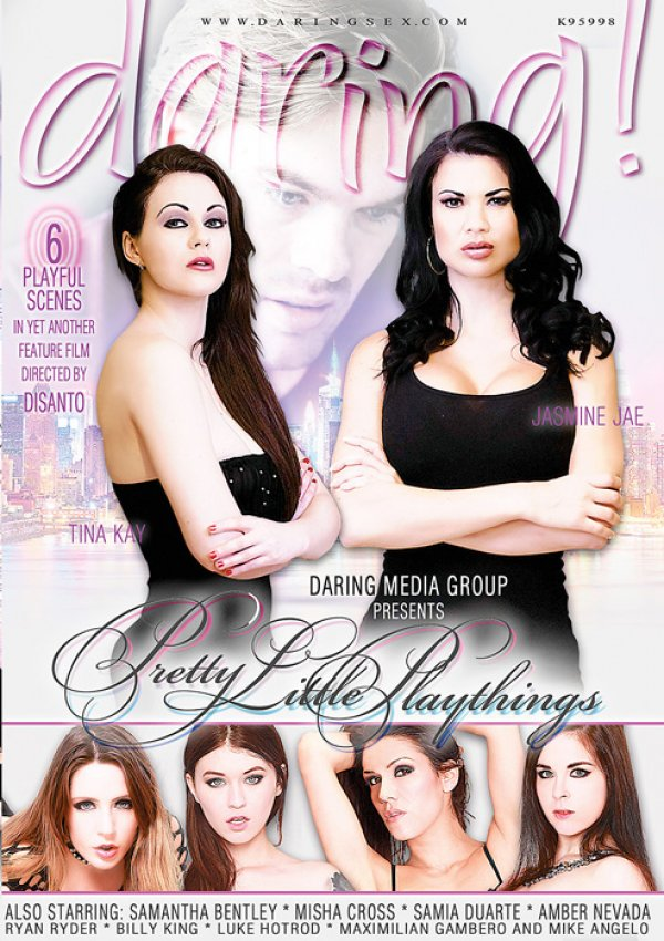 Daring Media Group Pretty Little Plaything Billy King Mike Angelo, Tattoos, Natural Breasts