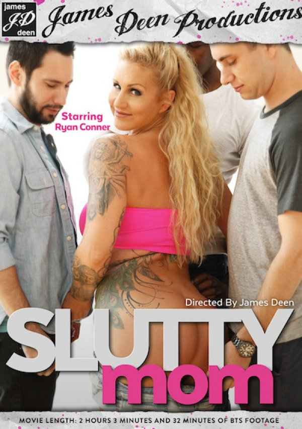 James Deen's Slutty Mom Ryan Conner James Deen, Gangbang, Curvy