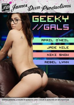 James Deen Productions James Deen's Geeky Gals Jade Nile Niki Snow, Big Dick, Blonde