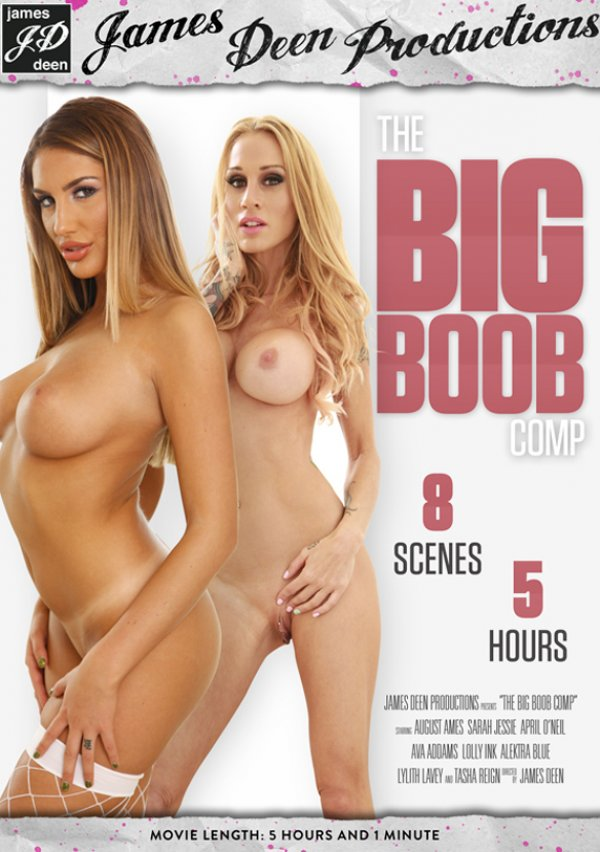 James Deen Productions The Big Boob Comp (James Deen Productions) 2016  Alektra Blue August Ames, Adult Movies, Big Tits