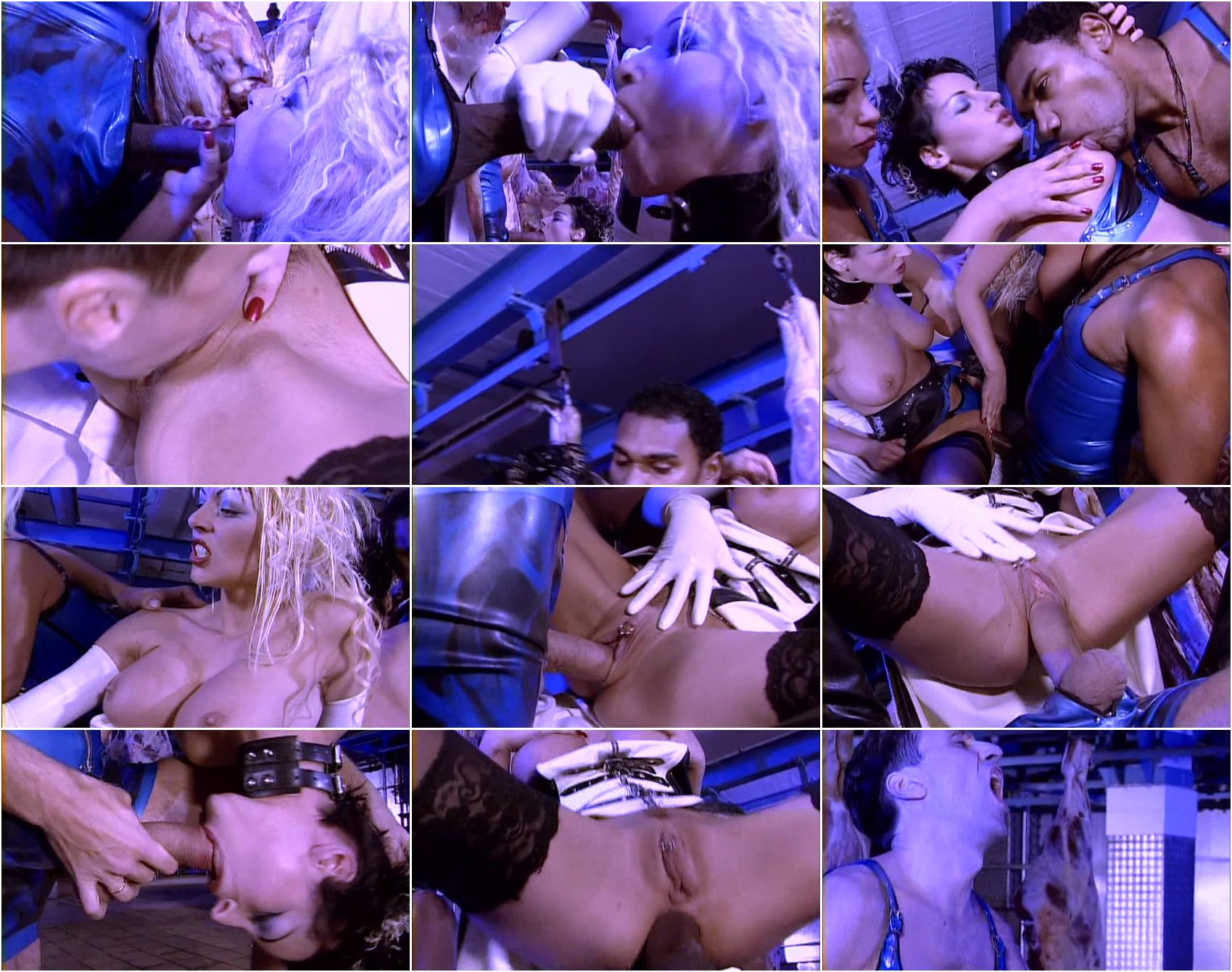 Henriette blond dp scene in cave from the movie indiana mack 4